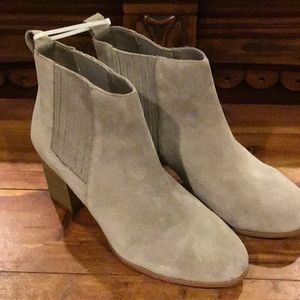 NWT INC Tan Suede Boots